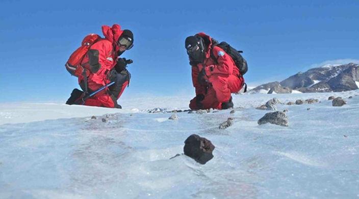 Взрыв над Антарктидой