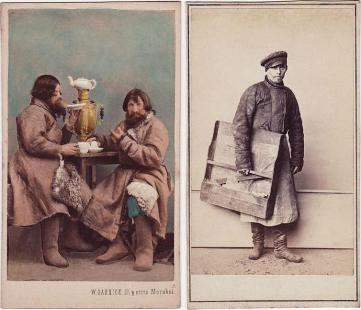 Как выглядели крестьяне и горожане XIX века
