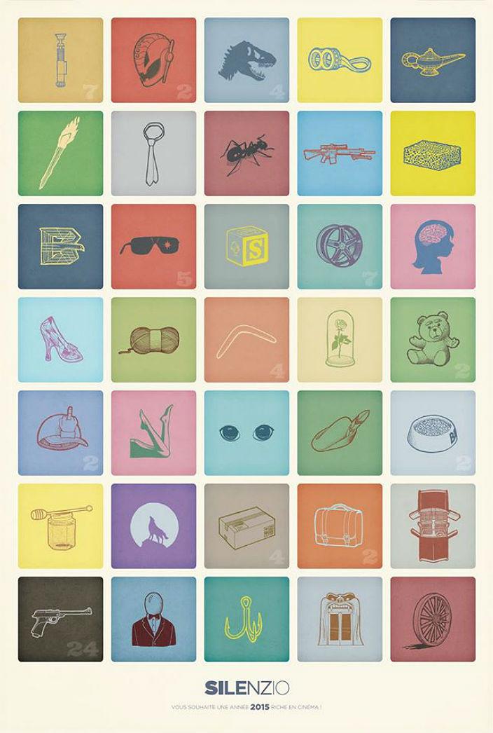 Кинопремьеры 2015 года в виде иконок