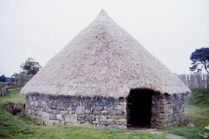 Британская архитектура позднего железного века