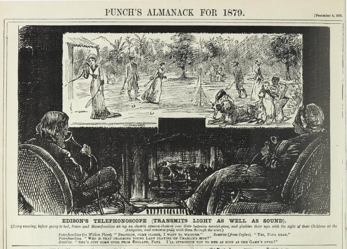 Видеотелефон 1879 года