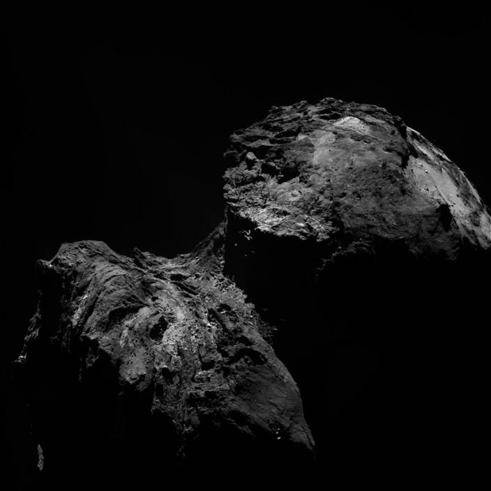 Наука года: Дюны на комете