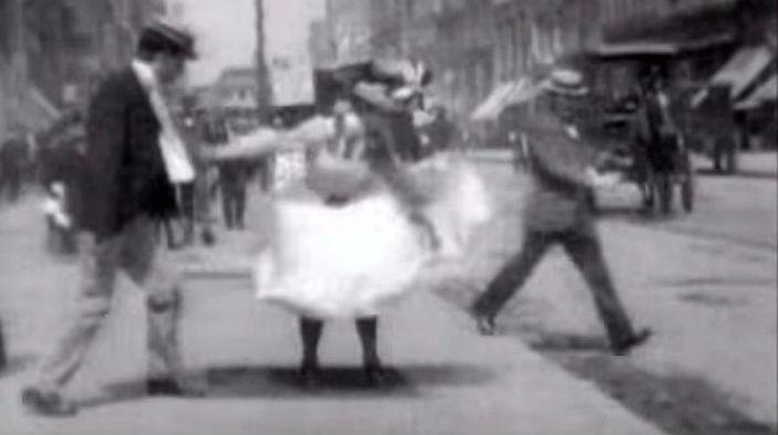 Старейшая кинохроника Нью-Йорка